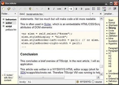 How the TIScript language is different from its prototype - JavaScript   javascript node.js   Scoop.it