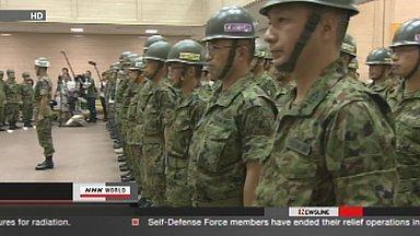 [Eng] Soulagement pour la fin des opérations du groupe d'auto-défense (SDF) | NHK WORLD English (+vidéo) | Japon : séisme, tsunami & conséquences | Scoop.it