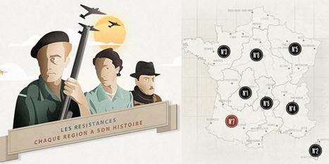 COMPLET 8 web-documentaires régionaux sur @LesResistances en France pendant l'Occupation. | la nouvelle technologie et le FLE | Scoop.it