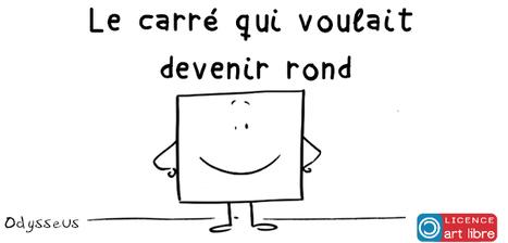 Le carré qui, par amour, veut devenir rond par @odysseuslibre #StValentin | Remue-méninges FLE | Scoop.it