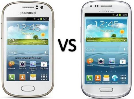 Compare Samsung Galaxy Fame vs Galaxy S3 Mini | Specifications of Smartphones | Scoop.it