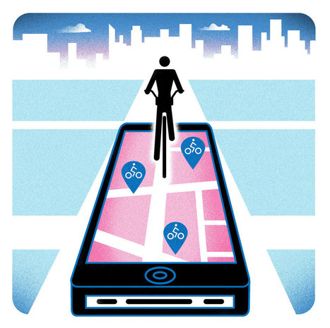 Citi Bike's One-Track App | Spatial Analysis | Scoop.it