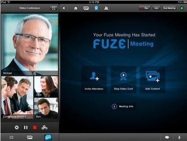 Daily iPad App: Fuze Meeting HD connects to telepresence systems | EDUcational Chatter | Scoop.it
