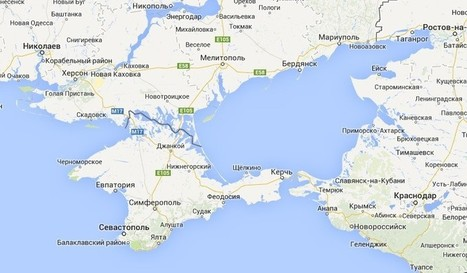 Russians Don't See the Same Map as the Rest of the World When They Google Crimea | Ms. Postlethwaite's Human Geography Page | Scoop.it