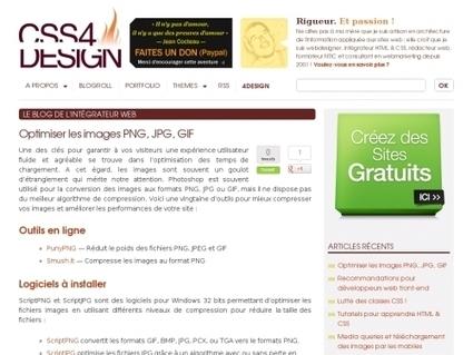 Optimiser les images PNG, JPG, GIF   Je, tu, il... nous !   Scoop.it