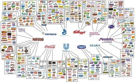 These Companies Own All the Food Brands | Sustain Our Earth | Scoop.it