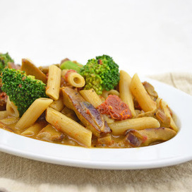 Weekly Vegan Menu: Broccoli and Sun-Dried Tomato Pasta   My Vegan recipes   Scoop.it