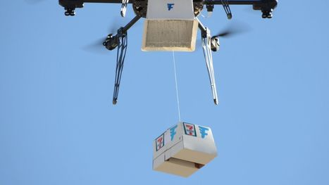 7-Eleven just made the first commercial delivery by Drone | Technology in Business Today | Scoop.it