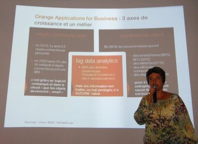 "Orange lance sa plateforme de développement d'applications ""intelligentes"" 