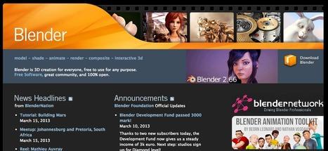 Crea animaciones con el software libre: Blender | mOOdle_ation[s] | Scoop.it