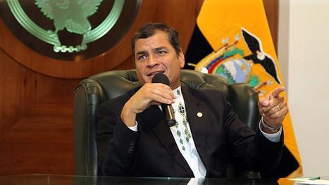 """Correa firma a favor de la campaña venezolana """"Obama deroga el decreto ya"""" - RT   Política para Dummies   Scoop.it"""