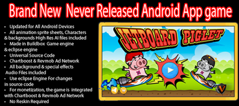 Buy Jetboard Piglet - Brand New Never Released Full Games For Android | Chupamobile.com | android source code | Scoop.it