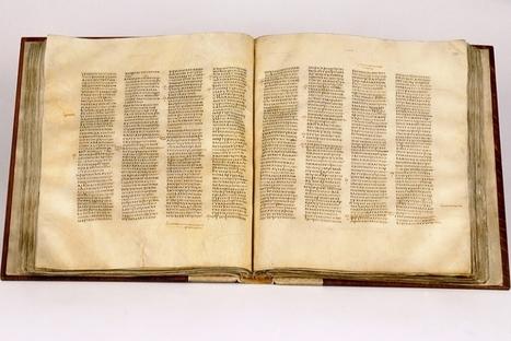 La plus ancienne Bible du monde exposée au British Museum de Londres | L'Angle de la Terre and Co | Scoop.it