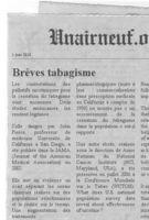 Brèves tabagisme 24 août 2011 - Unairneuf.org | Arret tabac | Scoop.it