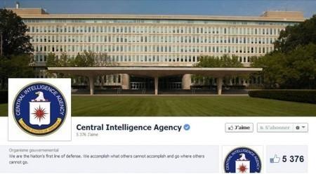DÉMASQUÉ – Pour redorer son blason, la CIA investit Twitter et Facebook   Geek & Design   Scoop.it