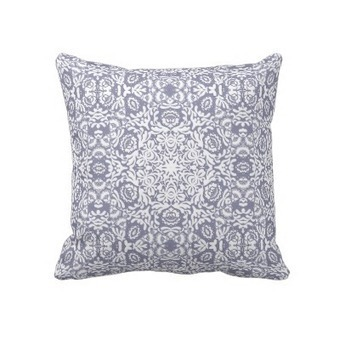 Decorator Indigo Geometric Pillow from Zazzle.com | Pillows | Scoop.it