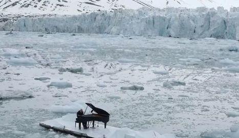 VIDEO. Un pianiste joue sur la banquise pour sauver l'océan Arctique | Poèmes d'avenir, du présent, du passé. | Scoop.it