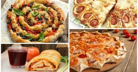 10 PIZZE dalle forme mai viste, per cambiare dalla solita pizza tonda!   La Cucina Italiana - De Italiaanse Keuken - The Italian Kitchen   Scoop.it