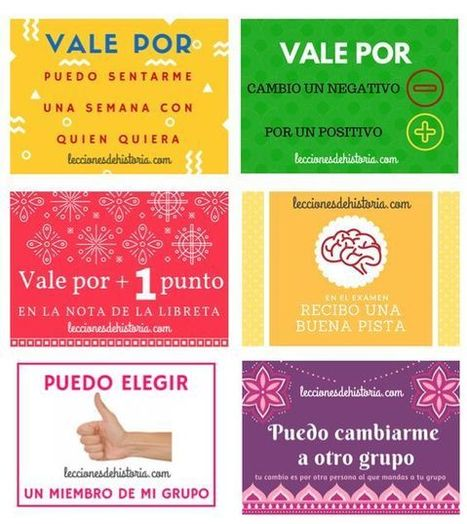 Noticias | Motivación en clase con tarjetas para gamificación | Educacion, ecologia y TIC | Scoop.it