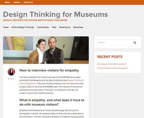 Repenser le design au musée avec « Design Thinking for Museums ... | Réinventer les musées | Scoop.it