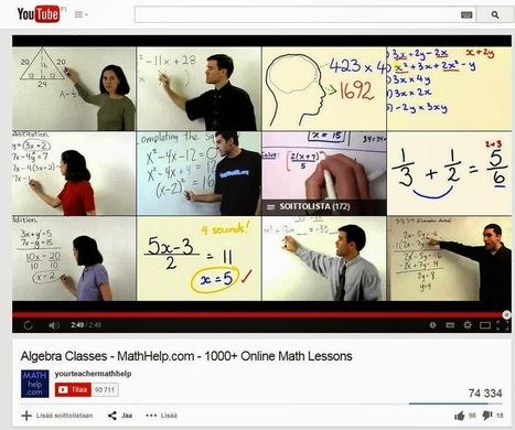 Havaintoja digimaailmasta: Youtube opetuksessa - missä ongelma? | Tablet opetuksessa | Scoop.it