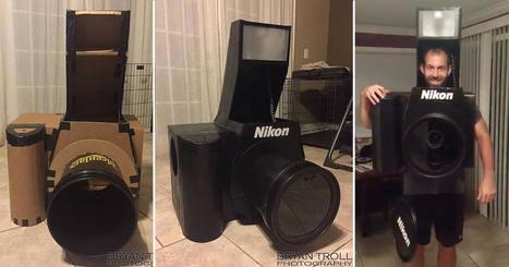 This Guy Built a Fully-Functional Nikon Camera Halloween Costume | Photography | Scoop.it