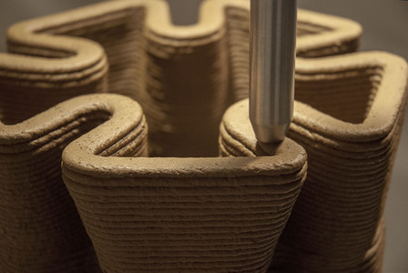 IAAC Researcher's Pylos 3D-Prints with Soil | Urban Choreography | Scoop.it