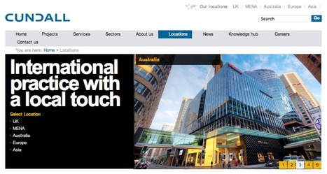 Cundall: International coverage for international engineers | Digital Portfolio by Small Back Room | Scoop.it
