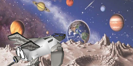 Spaceship to Mars, in Google SketchUp - Article | Research_topic | Scoop.it