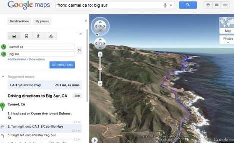 Google Maps permite visualizar rutas en 3D | Enseñar Geografía e Historia en Secundaria | Scoop.it