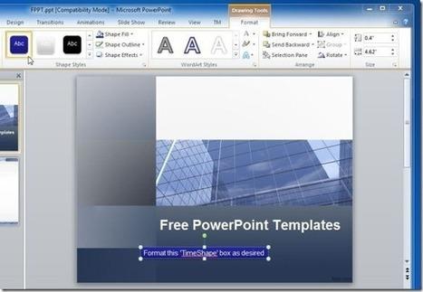 Add Countdown Timer in PowerPoint Presentations | Aprendiendoaenseñar | Scoop.it