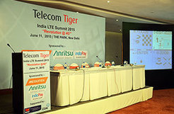 Anritsu displayed wide range of LTE technology Test and Measurement solution at India LTE Summit 2015