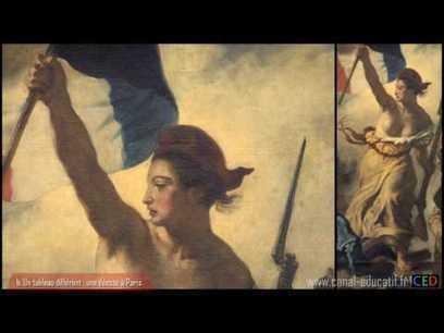 Analyse du tableau de Delacroix : La Liberté guidant le peuple   Histoire des arts à Orlinde   Scoop.it