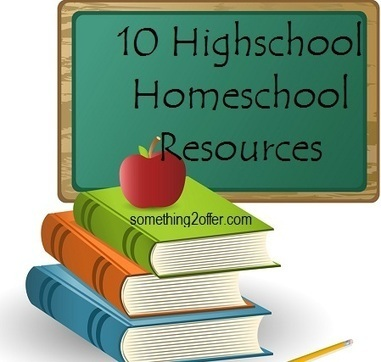 10 High school Homeschool Resources - Something 2 Offer   Homeschooling & Language   Scoop.it