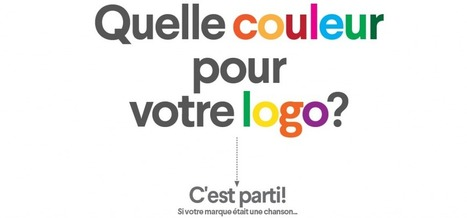 [#Infographie] Quelle Couleur Pour Votre Logo ? | Graphic design | Scoop.it