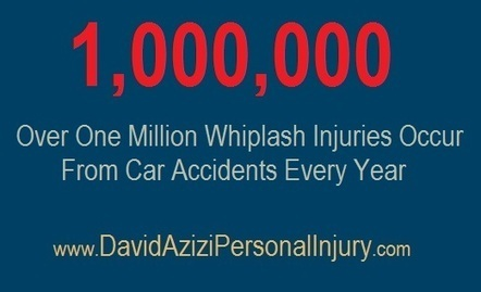 Over One Million Whiplash Injuries Occur From Car Accidents Every Year | David Azizi Personal Injury | Scoop.it