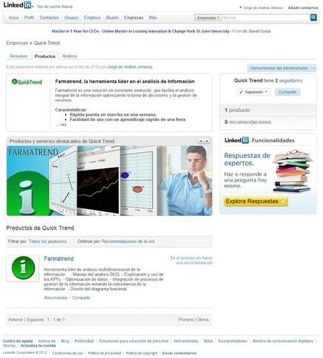 Yoryoterapia 2.0: Como volver tu perfil de Linkedin mas comercial en 5 pasos | Social Media 3.0 | Scoop.it