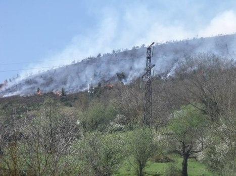 Un écobuage qui tourne mal sur Arreau ? Colette Recurt's Photos | Facebook | Vallée d'Aure - Pyrénées | Scoop.it