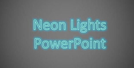 Añadir Efecto de Neón en un Texto de PowerPoint | Plantillas Power Point | Ariel Andrade | Scoop.it