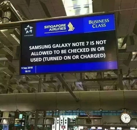 Samsung will deactivate your defective Galaxy Note 7 if it is not returned - Your News Ticker | technologynews | Scoop.it