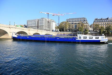 (75) Transport fluvial pour les déchets légers du chantier de la Samaritaine | Navigation, Ports et Intermodalité | PSN - Filière Eco-Industrie | Scoop.it