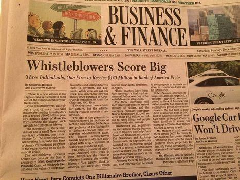 Whistle blowing on the rise! | Ethical Leadership Speaker | Richard Bowen | Peer2Politics | Scoop.it