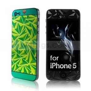 3D Diamond Screen Protector for Apple iPhone 5 Green - Witrigs.com | OEM iPad Mini 2 repair parts | Scoop.it