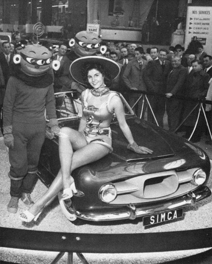 1954 Simca Ghia | Sex History | Scoop.it