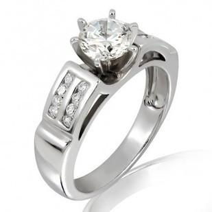 Buy Clarity IGL Certified Diamond Ring Online, Bangkok, Thailand   myglitzjewels   Scoop.it