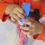 Water bottle collages made by our prek | Teach Preschool | Scoop.it