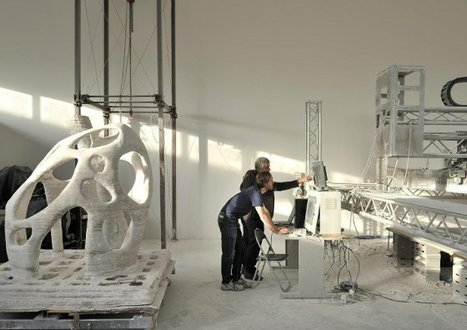 3-D Printing Whole Buildings in Stone...in Space: This Printer Rocks | D-Shape Topics | Scoop.it