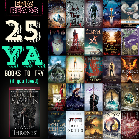25 YA Books For GAME OF THRONES Fans | | Librarians in the real world | Scoop.it