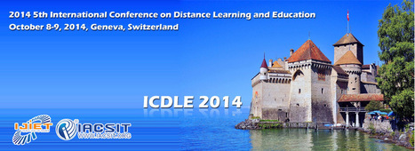 e-learning, conocimiento en red: 5th International Conference on Distance Learning and Education (ICDLE 2014). Geneva, Switzerland OCT | Digital Learning, Technology, Education | Scoop.it