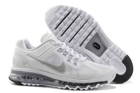 Cheap Sale Nike Air Max 2014 Mens White Grey Shoes,Cheap Jordans | Cheap Air Max 2014 | Scoop.it